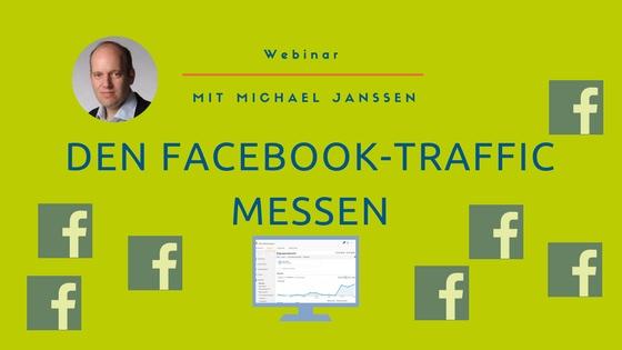 Webinar: Facebook-Traffic messen | Google Analytics