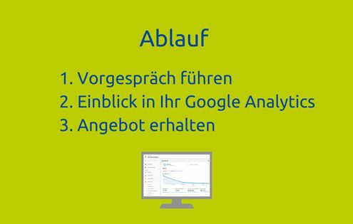 Ablauf Vorarbeit Google-Analytics-Audit