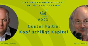 Günter Faltin Interview im Online-Shop-Podcast