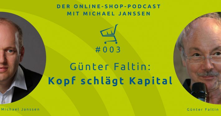 Günter Faltin Interview im Online-Shop-Podcast