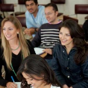 Menschen in einem Seminar |Goolge-Analytics-Seminar mit Michael Janssen