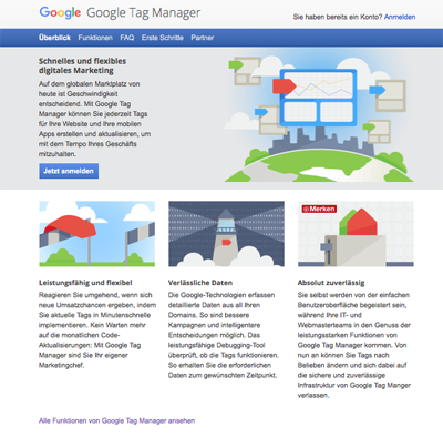 Google Tag Manager – Seminar in Köln