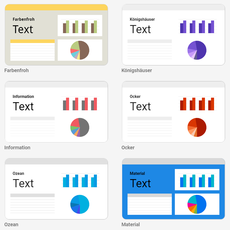 Google Data Studio Alternative Designs