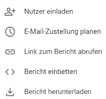 Google Data Studio Berichts Header