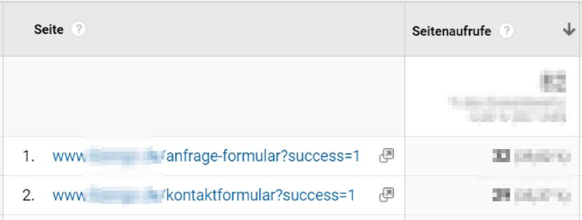 Google Analytics Tipp: UTM-Parameter ausschließen.
