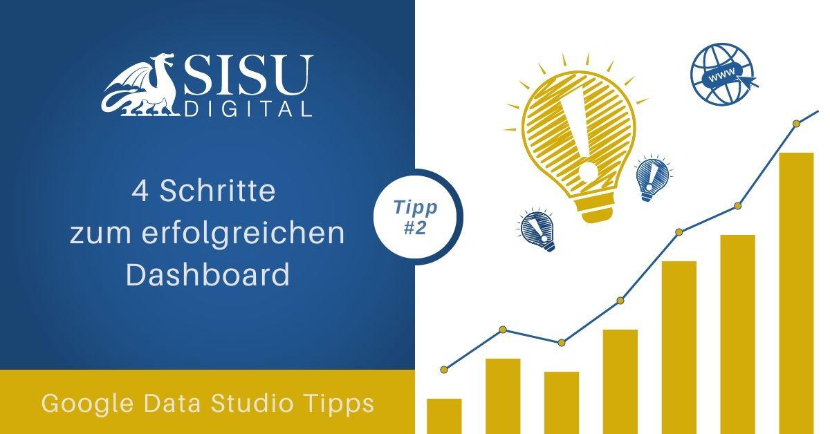Google Data Studio Tipp 2: Kläre folgende Punkte bevor du ein Dashboard erstellst