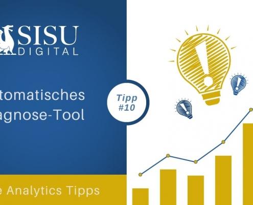 Google Analytics Tipp 10: Automatisches Diagnosetool