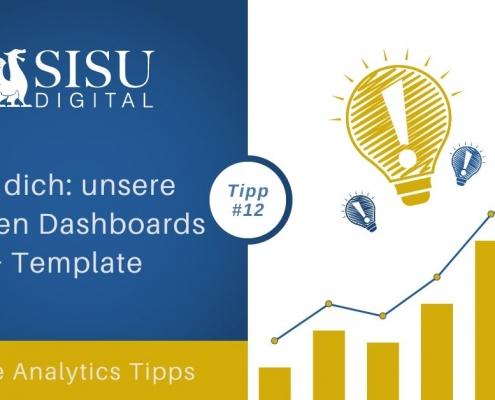 Google Analytics Tipp 12: Fertige Dashboards und Bericht Template nutzen
