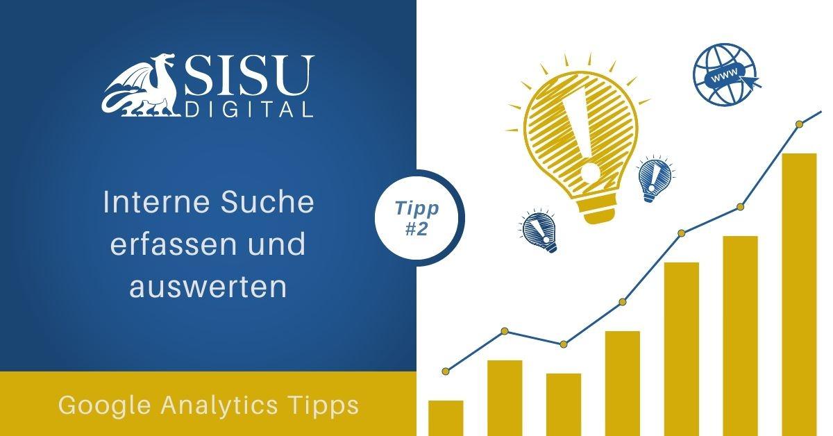 Google Analytics Tipps: Interne Suchen erfassen und auswerten