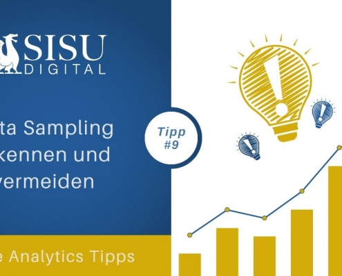 Google Analytics Tipp 9: Stichprobenerhebung data sampling